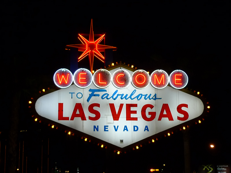 Betty Willis Welcome to Fabulous Las Vegas Sign