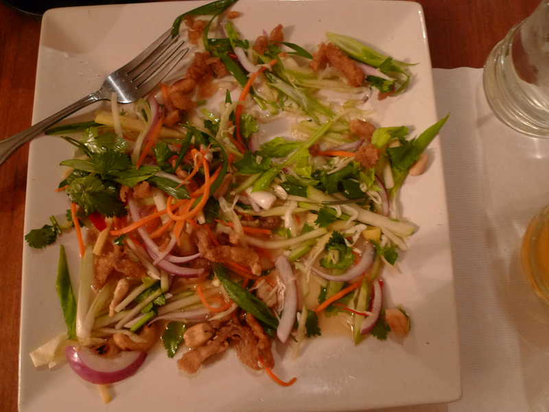 Crispy Catfish Salad