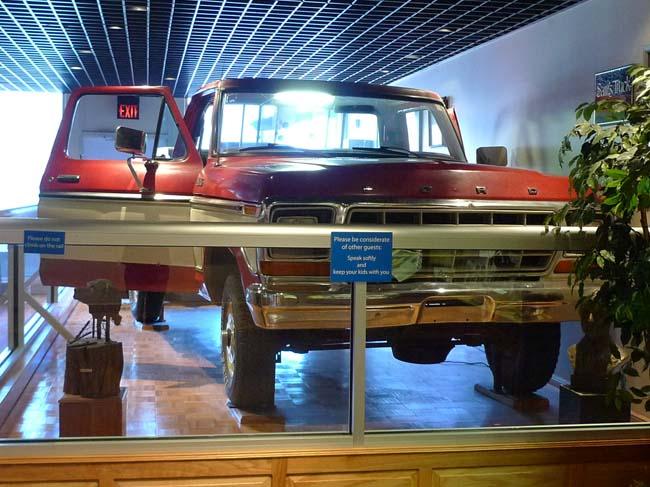 Sam' Walton's Ford Pick-Up Truck