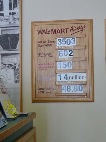 U.S. Wal-Mart Store Count