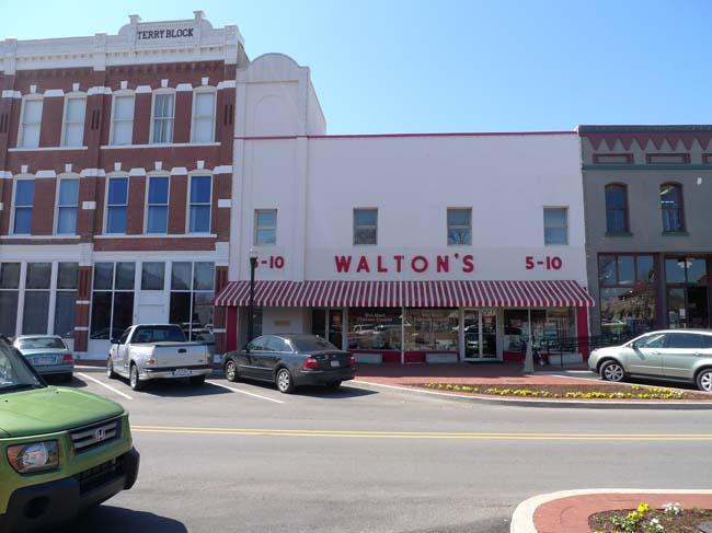 Walton's 5 & 10, Bentonville, Arkansas