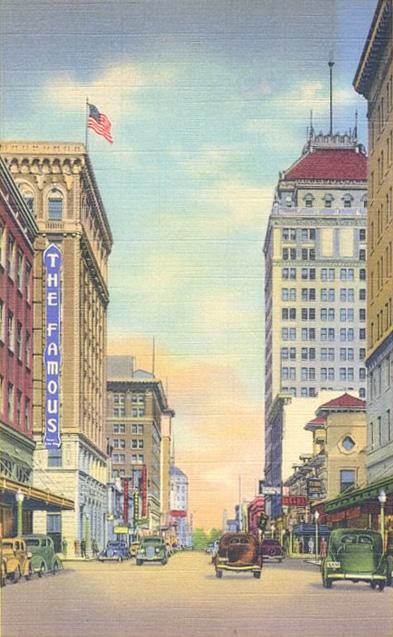 Fulton Street in the 1920s