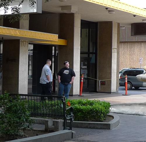Fulton Mall/USCIS Security Guards