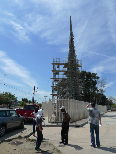 Watts Tower without Shade