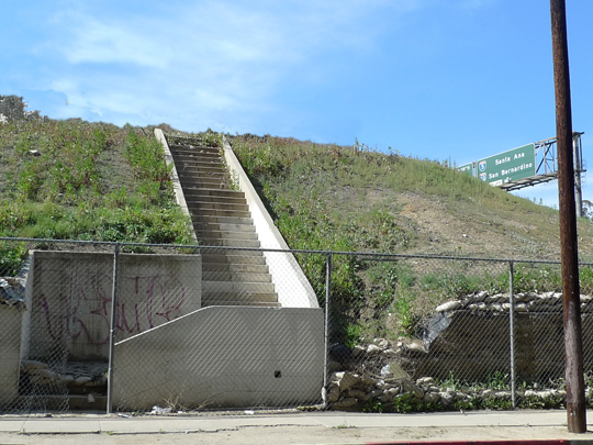 Abandoned Stair on North Fremont Street