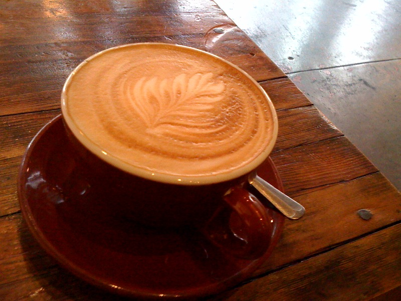 Cafe Latte from Four Barrel