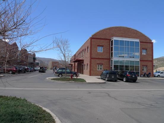 Buildings at Corner at Edwards