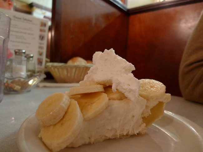 Banana Cream Pie at Idle Isle in Brigham City, Utah
