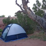 Camping at Arches