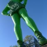 Jolly Green Giant in Minnesota
