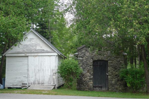 19th century shacks in Somesville