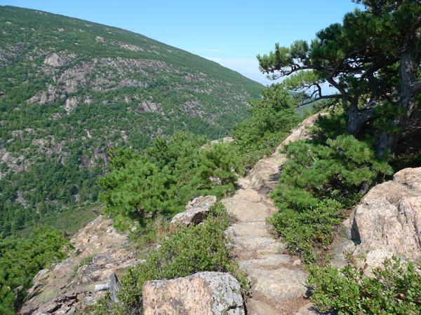 Trail on Champlain Mountain
