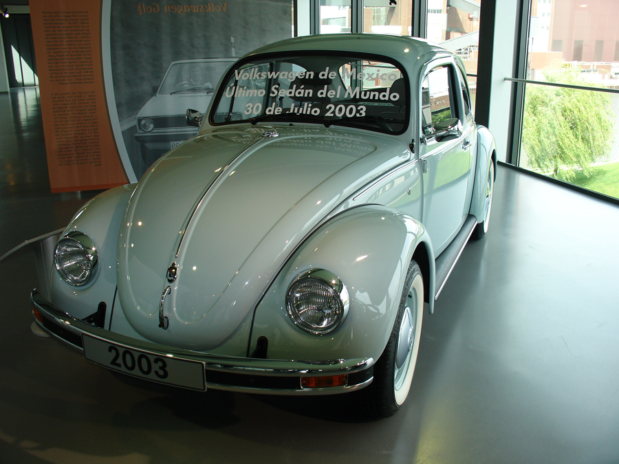 The last type 1 Volkwagen, built in 2003