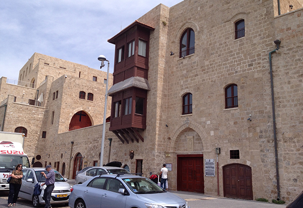 Armenian Convent at Jaffa