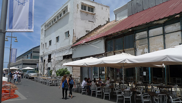 Jaffa Port Cafes