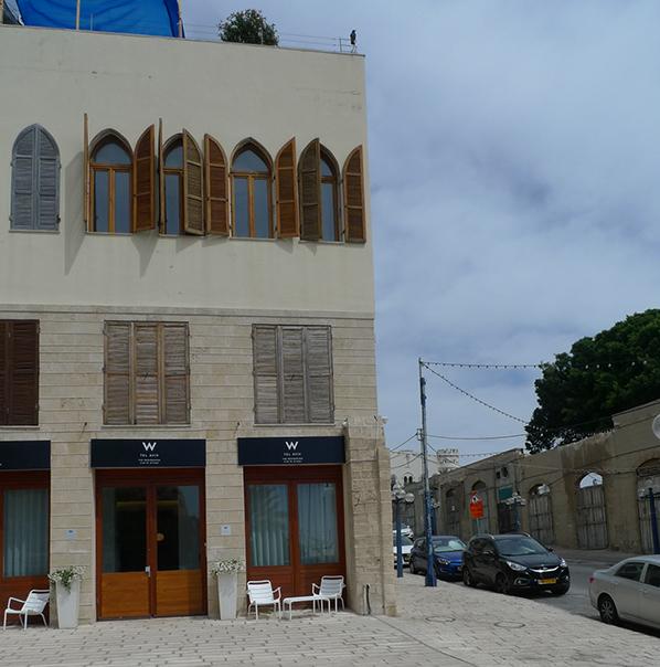 W at Jaffa
