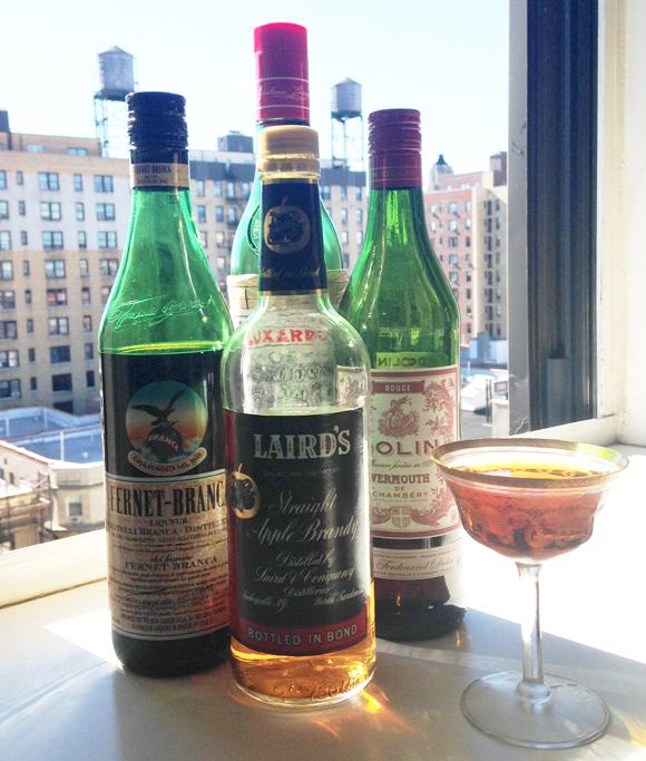 Newark Cocktail in Manhattan