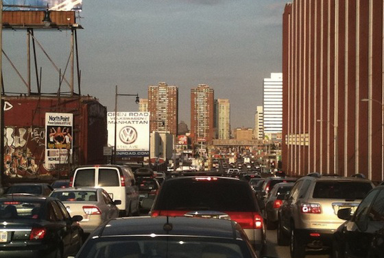 Holland Tunnel Traffic by Keith Lam via flickr