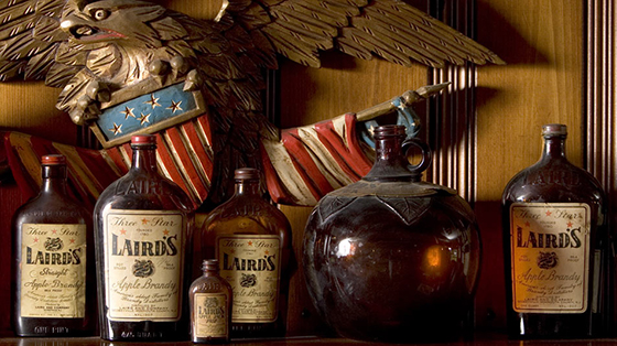 Laird's Pre-Prohibition Bottles